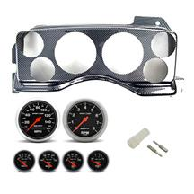 Mustang Instrument Panel & Gauge Kit Carbon Fiber (87-93)
