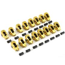 "Mustang Comp Cams 1.6 Ratio 3/8"" Stud Mount Ultra-Gold Aluminum Rocker Arms (79-95) 5.0/5.8"
