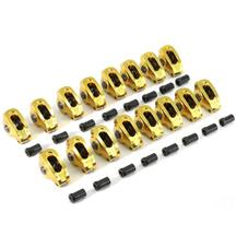 "Mustang Comp Cams 1.72 Ratio 7/16"" Stud Mount Ultra-Gold Aluminum Rocker Arms (79-95) 5.0/5.8"