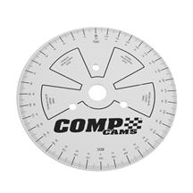 Comp Cams Sportsman Cam Degree Wheel