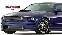 Mustang Aggressive Style Chin Spoiler (05-09)