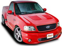 F-150 SVT Lightning Fiberglass Louvered Hood (99-04)