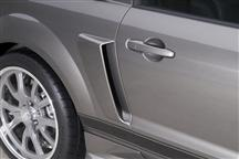 Cervini Mustang C-Series Quarter Panel Scoops (05-09) 4306