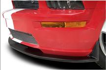 Mustang Cervini's  Type 3 Front Chin Spoiler Black Textured (05-09)