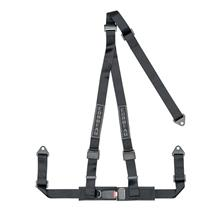 Corbeau 3 Point Bolt In Harness Black