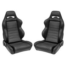 Corbeau LG1 Leather Seat Pair