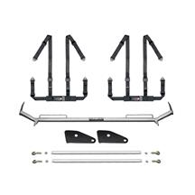 "Mustang Corbeau 2"" Bolt In 4 Point Harness & Bar Kit (90-93)"