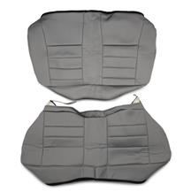 Mustang Corbeau Rear Seat Upholstery Gray Cloth (79-93) Coupe