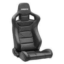 Corbeau Sportline RRS Racing Seat Pair  - Black Leather