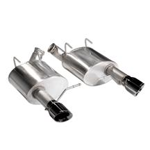 Mustang Corsa XTREME Axle Back Exhaust System  - Black Tips (11-14)
