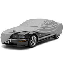Covercraft Mustang Car Cover - Block It 200 - Pony Logo (05-14) C17124SG-FD11