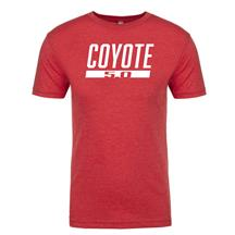 Coyote 5.0 T-Shirt - Vintage Red - (Large)