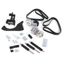 Coyote Engine Swap Accessory Bracket Kit Black 5.0