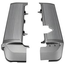 Mustang CPC Fuel Rail Covers Silver Finned (05-10) 4.6L 3V