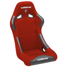 Mustang Corbeau Forza Seat Red Cloth