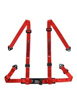 Corbeau 4 Point Bolt In Harness Red