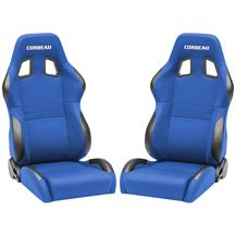 Corbeau  A4 Seat Pair  - Blue Cloth