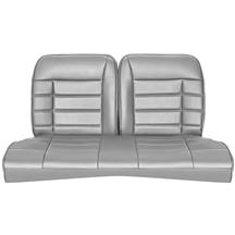 Mustang Corbeau Rear Seat Upholstery Gray Vinyl (84-93) Hatchback