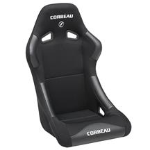 Mustang Corbeau Forza Seat Black Microsuede
