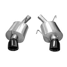 Mustang Corsa Sport Axle Back Exhaust  - Black Tips (05-10)