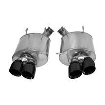 Mustang Corsa Sport Axleback Exhaust System  - Black Tips (13-14)