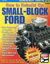 Cartech How To Rebuild The Small Block Ford Book SA102