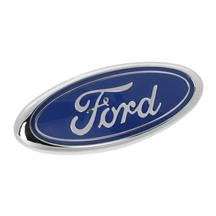 Mustang LX Front Ford Oval Emblem  - Original Ford Blue (87-93)