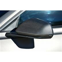 Mustang Defenderworx Carbon Fiber Mirror Covers  - Matte (15-17)