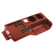 Mustang Cup Holder Console Panel  - Scarlet Red (87-93)