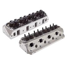 Edelbrock Mustang Victor Jr 210cc Cylinder Heads - 60cc Chamber (79-95) 5.0/5.8 77189