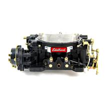 Mustang Edelbrock  Performer Carburetor - 600 cfm  Electric Choke - Black Finish (79-95)