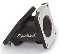 Mustang Edelbrock Throttle Body Adapter Black (94-95) 5.0