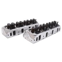 Mustang Edelbrock E-Series Fully Assembled Cylinder Heads 205cc (79-95) 5.0 5.8