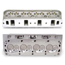 Mustang Edelbrock Victor Jr 210cc Cylinder Heads - 60cc Chamber (79-95) 5.0/5.8