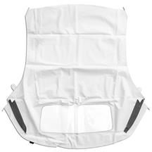 Mustang Electron Top Convertible Top w/ Vinyl Window White (94-04)