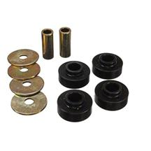Mustang Energy Suspension IRS Differential Mount Bushing Kit Black (15-17)