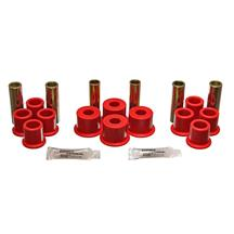 Energy Suspension F-150 SVT Lightning Urethane Rear Leaf Spring Bushing Kit (93-95) ES4.2122R