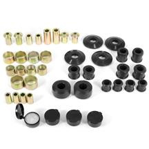Mustang Energy Suspension Hyper-Flex Rear Control Arm Bushing Kit  - Black (15-18)