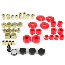 Mustang Energy Suspension Hyper-Flex Rear Control Arm Bushing Kit  - Red (15-18)