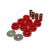 Mustang Energy Suspension IRS Subframe Bushing Set Red (15-17)
