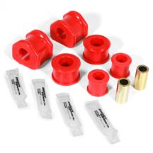 Mustang Energy Suspension 24mm Rear Sway Bar Bushing Kit  - Red - Performance Pack (11-14)