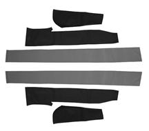Mustang Convertible Top Pad Set (83-90)