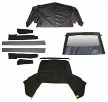 Mustang Convertible Top Kit - Black (91-92)