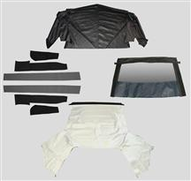 Mustang Convertible Top Kit - White (91-92)