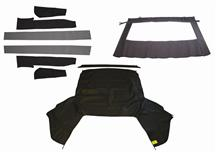 Mustang Economy Convertible Top Kit  - Black (83-90)