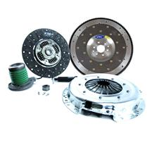 "Mustang Exedy Stage 2 Clutch Kit w/ Billet Alum. Flywheel 11""-23 Spline (15-17) 3.7"