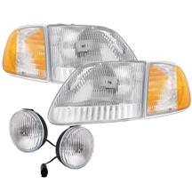 F-150 SVT Lightning Headlight & Fog Light Kit (99-00)