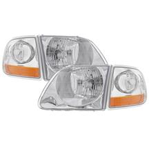 F-150 SVT Lightning Headlight Kit  - Clear Lens (01-04)