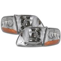 F-150 SVT Lightning Smoked Headlight Kit (99-04)