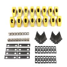 "Mustang Crane 1.6 Ratio 5/16"" Pedestal Mount Roller Rocker Arms  - Gold Race  (85-95)"